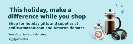 Amazon Smile holiday banner